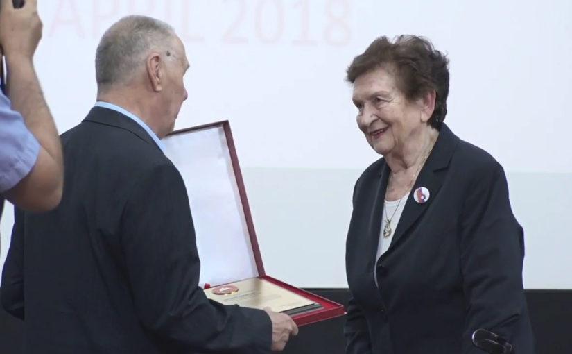 Borčevska priznanja Nuši Kerševan in Francu Gorniku