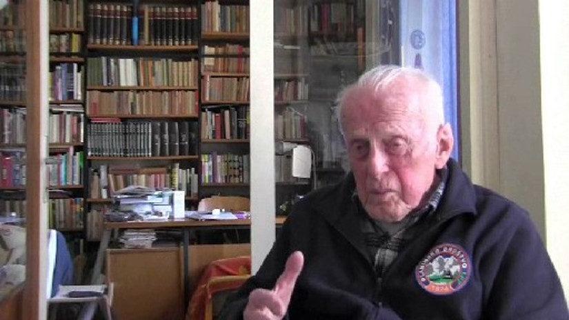 Knjige so ga spremljale tudi v partizanih – vse do predzadnje sobote v marcu: Slavko Krušnik