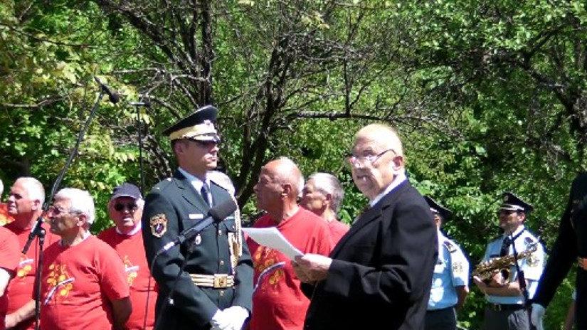 Orle 2015, pred 70.obletnico osvoboditve Ljubljane: Komandant Lojze
